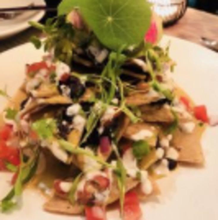 Vegan user review of Bar Verde in New York.