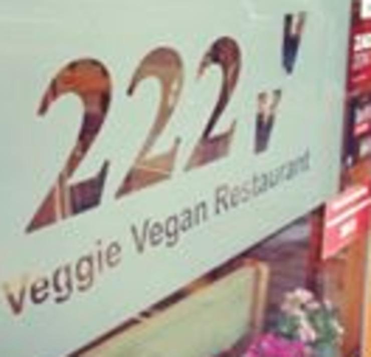 Vegan user review of 222 Veggie Vegan in London.