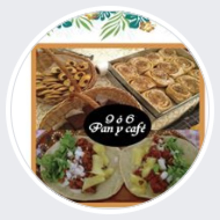 Vegan user review of 9 ó 6 Café in Puebla.