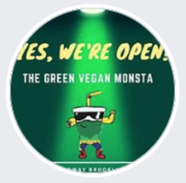Vegan user review of The Green Vegan Monsta in Brooklyn.