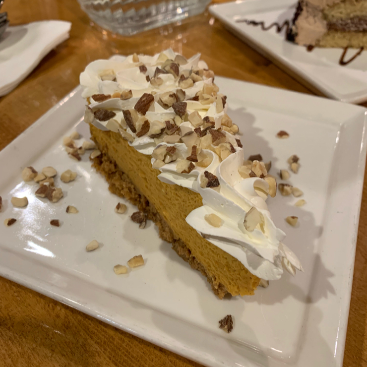 Vegan user review of Merit Vegetarian Restaurant in Sunnyvale. Vegan tiramisu cake