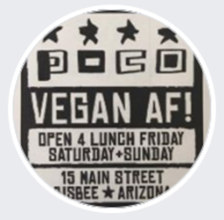 Vegan user review of POCO in Bisbee.