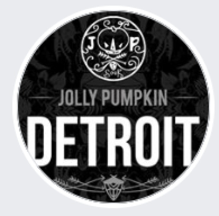 Vegan user review of Jolly Pumpkin Pizzeria & Brewery in Detroit.