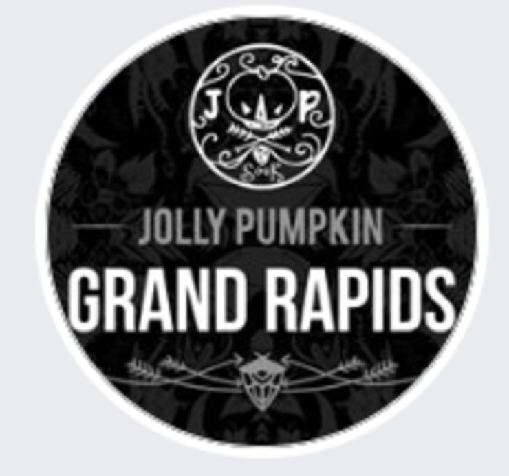 Vegan user review of Jolly Pumpkin Pizzeria & Brewery in Grand Rapids.
