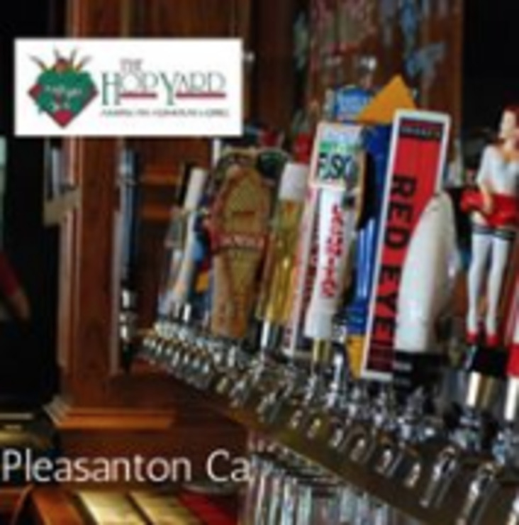 Vegan user review of The Hop Yard American Alehouse & Grill in Pleasanton.