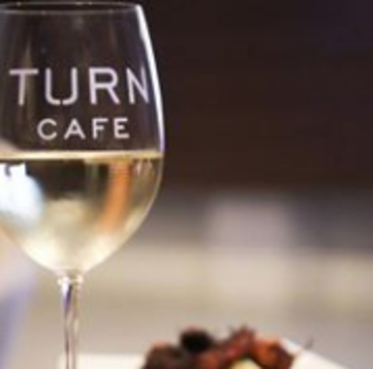 Vegan user review of The Turn Cafe in San Francisco.