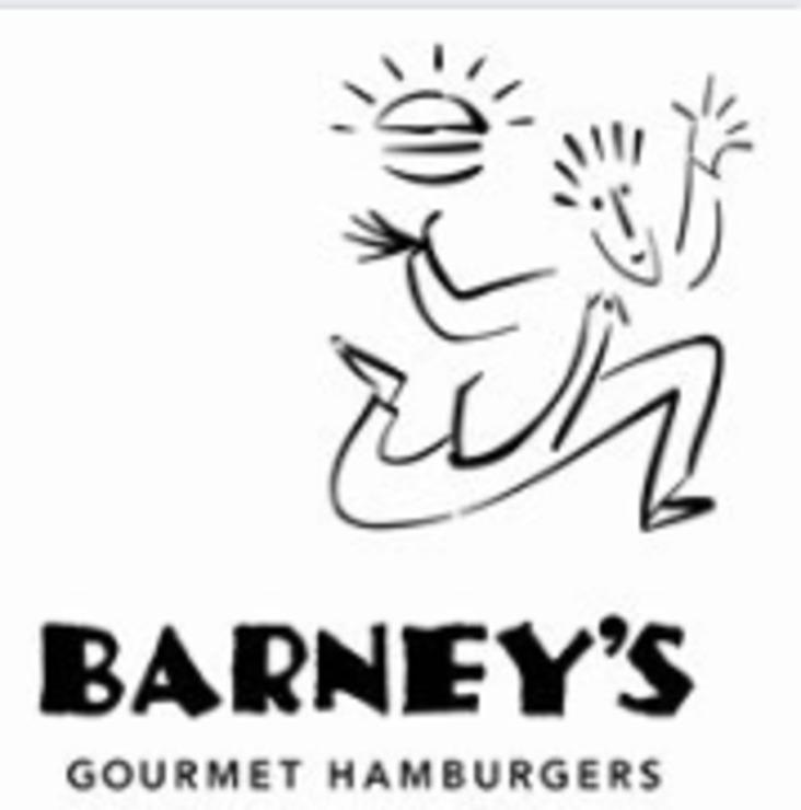 Vegan user review of Barney's Gourmet Hamburgers in Oakland.