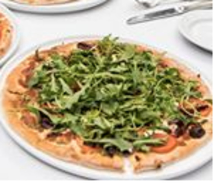 Vegan user review of Piazza D'Angelo in Mill Valley.