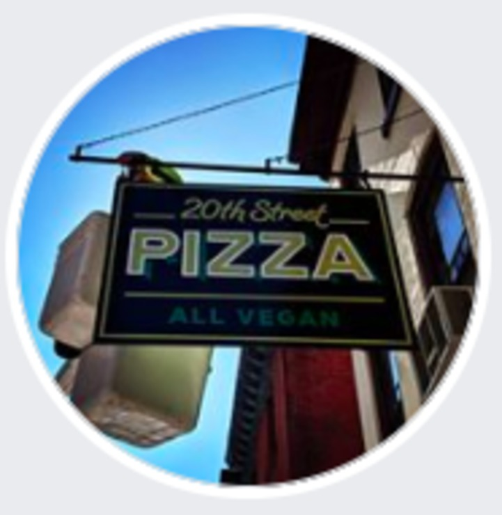 Vegan user review of 20th Street Pizza in Philadelphia.