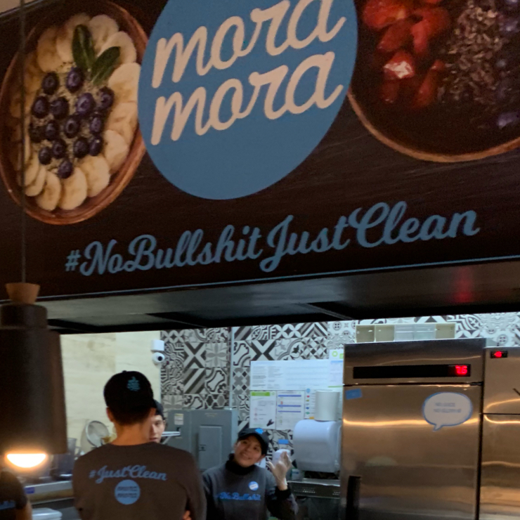 Vegan user review of Mora Mora in Ciudad de México.