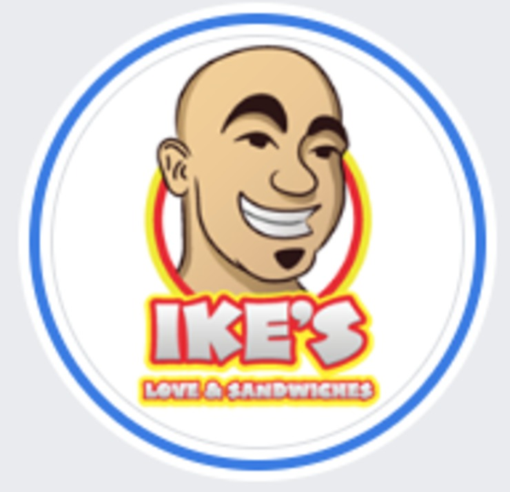 Vegan user review of Ike's Love & Sandwiches in Houston.