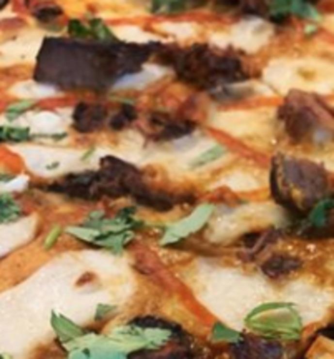 Vegan user review of Pizza Flora in San Jose.
