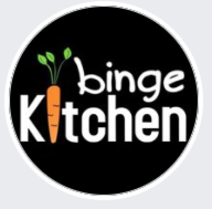 Vegan user review of Binge Kitchen in San Marcos.