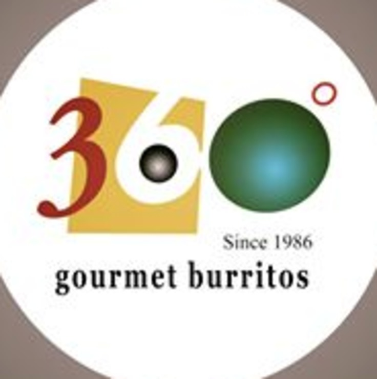 Vegan user review of 360 Gourmet Burritos in Lafayette.