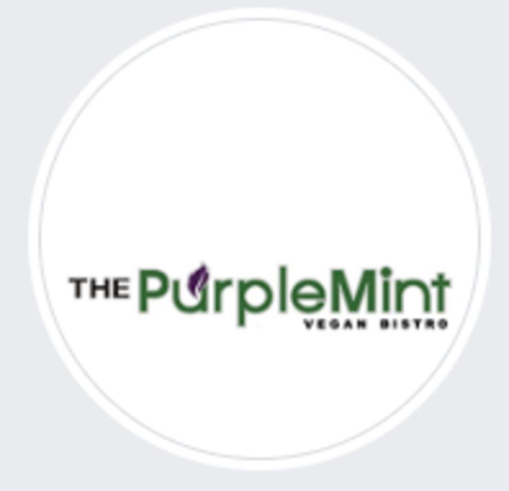Vegan user review of The Purple Mint Vegan Bistro in San Diego.
