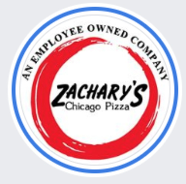 Vegan user review of Zachary's Chicago Pizza in Oakland.