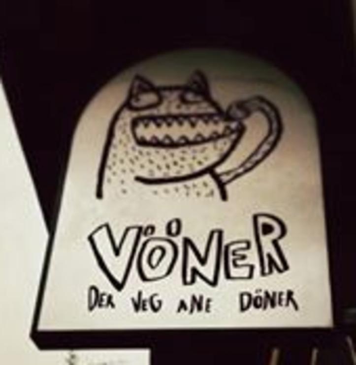 Vegan user review of Vöner in Berlin.