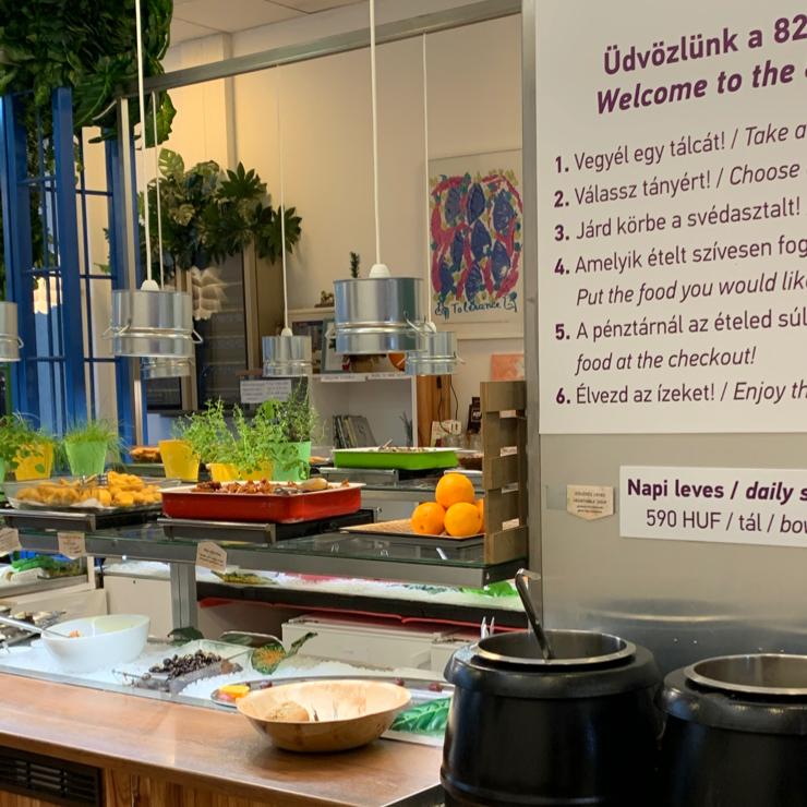 Vegan user review of 827 Speciality Kitchen - Vegán étterem in Budapest.