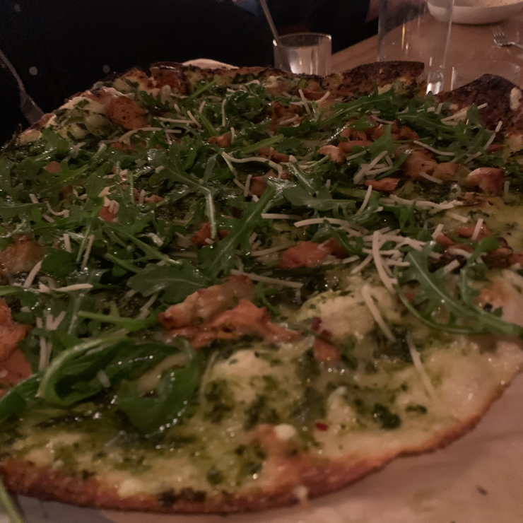 Vegan user review of Wildseed in San Francisco. Flat bread, good but too oily for me. Bolognas, good but too salty for me. This place have very nice ambience though.