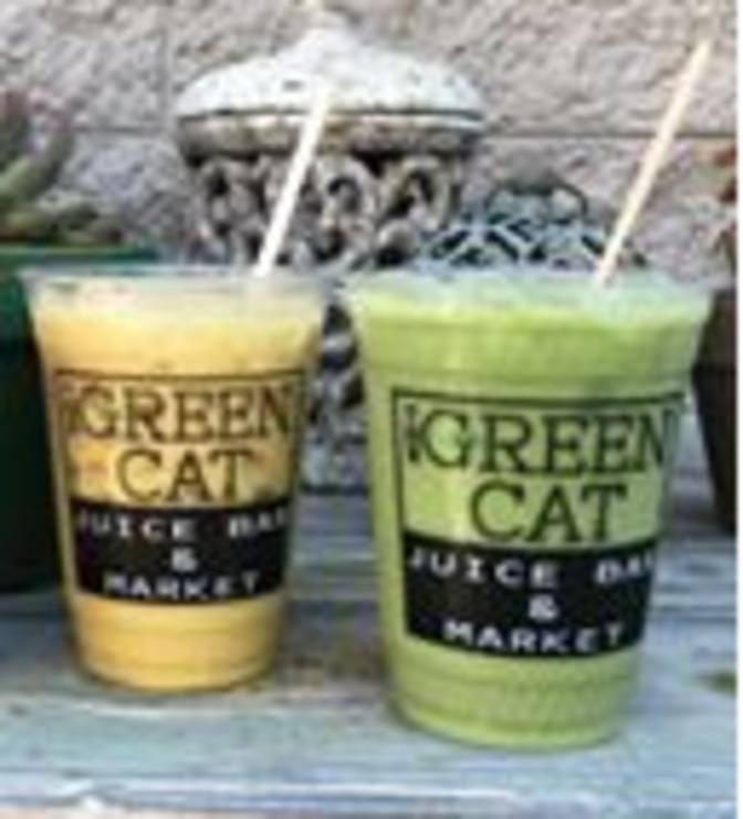 Vegan user review of The Green Cat in Virginia Beach.