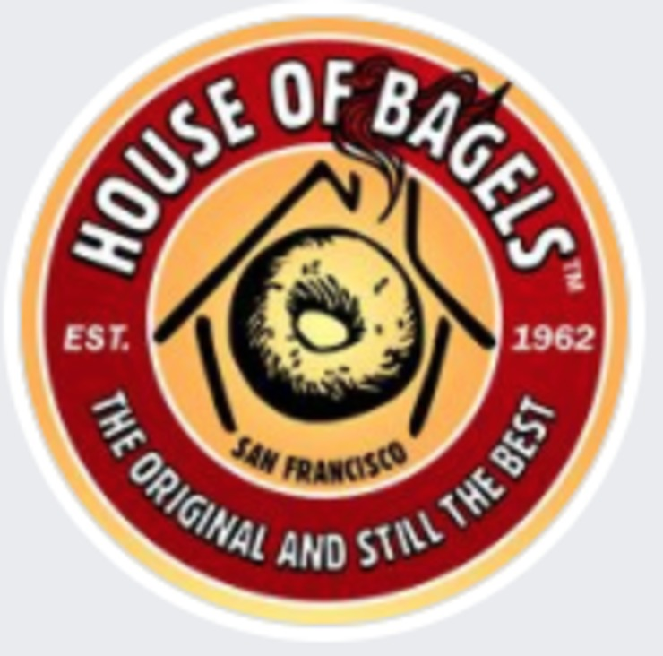 Vegan user review of House of Bagels in San Francisco.