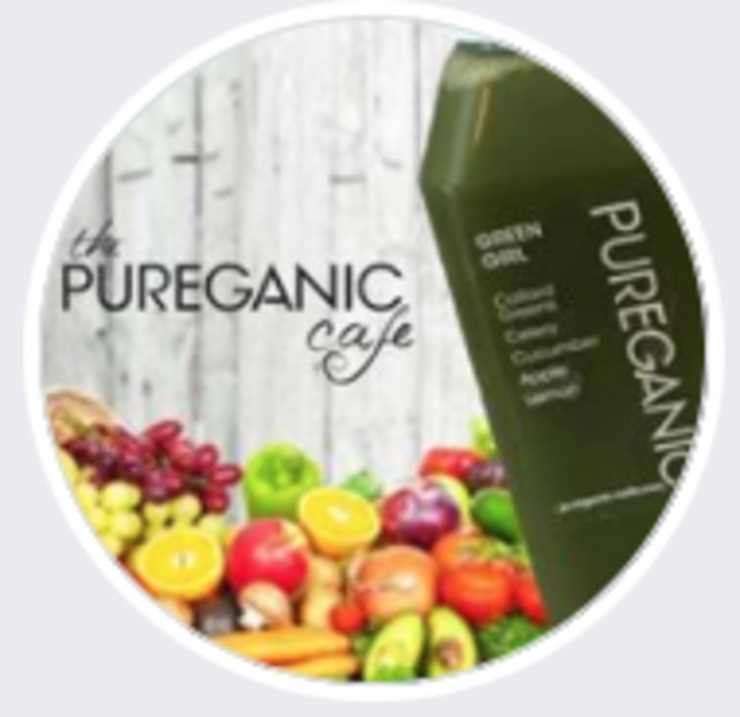 Vegan user review of The PUREGANIC Cafe in Rye.