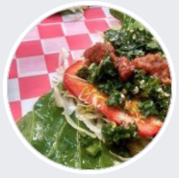 Vegan user review of Vegan Flava Cafe in Chapel Hill.