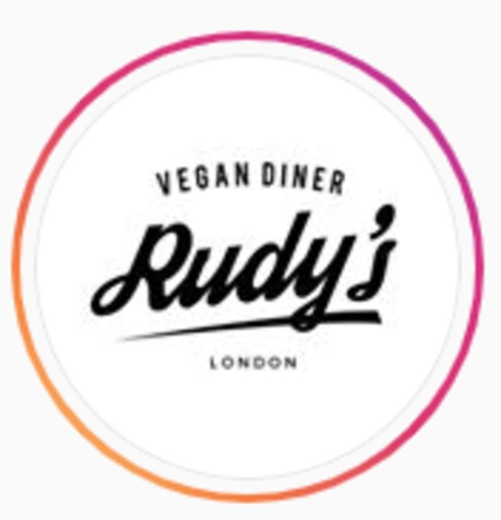 Vegan user review of Rudy's Vegan Diner in London.